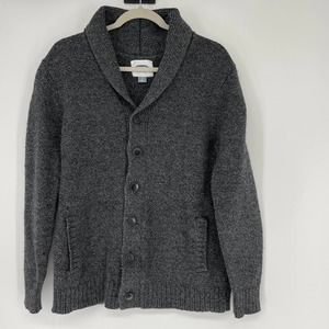 Men's Old Navy Cardigan Sweater Large Gray